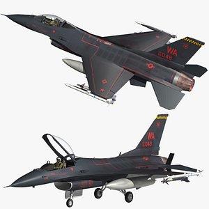 F16 64th Aggressor Squadron 3D model