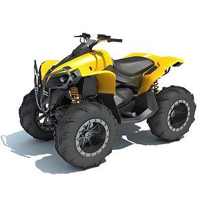 Generic ATV Vehicle 3D model