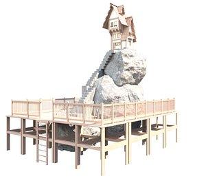 3D Fantastic Game Hause