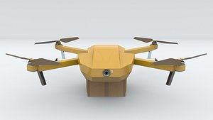 3D drone delivery model