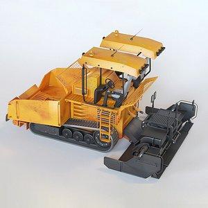 3D model Asphalt Paver