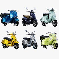 Vespa Scooter Collection