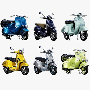 Vespa Scooter Collection model