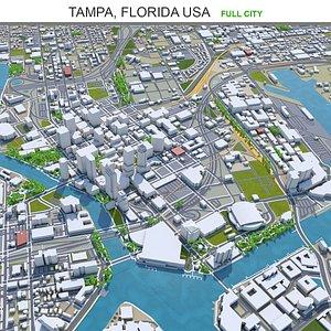 Tampa Florida USA 3D