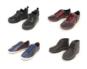 3D shoe fashion boot model