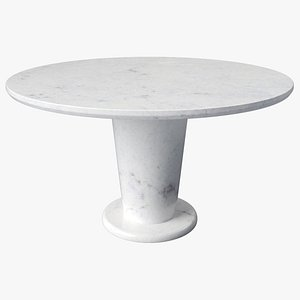 Marble Core Table 3D model