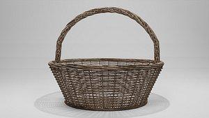 basket old 3D model
