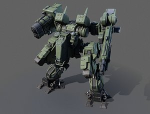 MW Mech Tank-2 3D model