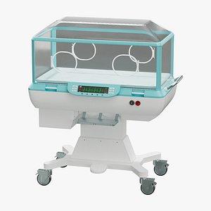 incubator infant 3D model