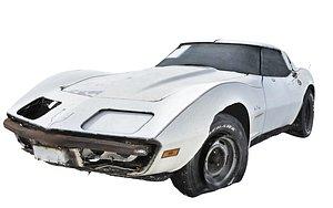 Classic Car Wreck(1) 3D model