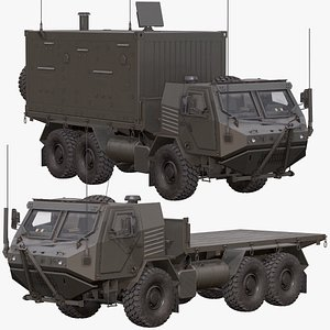 3D Armored Concept Truck Pack