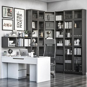 IKEA office workplace 74 model