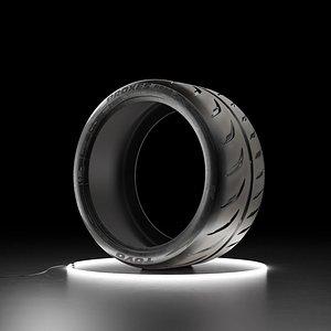 Car tire TOYO PROXES R888R model