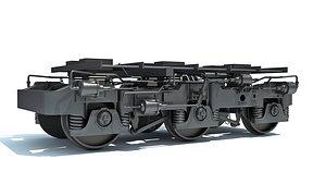 hi-ad train wheels 3D model
