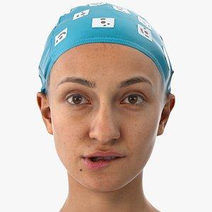 joy human head lip model