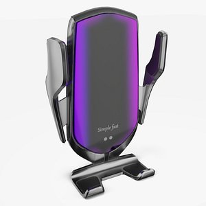 wireless car charger 3D model