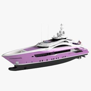 3D Willie Soul Luxury Yacht
