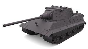 E-80 Free 3D model