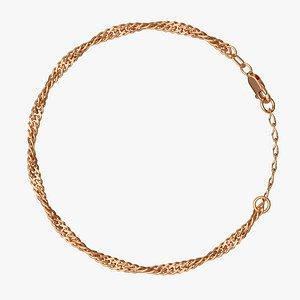 chain bracelet 3D model
