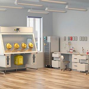 3D Laboratory 6 model