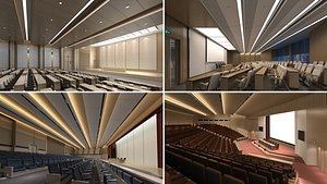 lecture room 3D