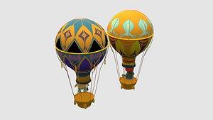 air balloon hot 3D