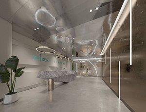 3D Beauty salon plastic surgery hospital medical cosmetology plastic surgery model