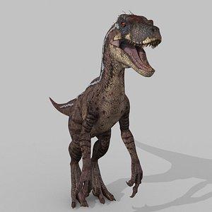 3D raptor - model