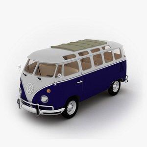 old bus 3d model