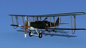 3D Airco DH-4 V04 Bomber USASC