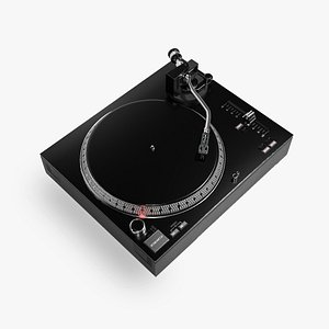 Turntable Vinly Record Player 3D model