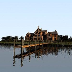 lake cottage 3D
