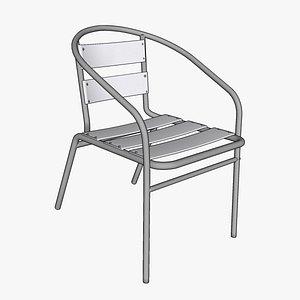 3D ali arm chair