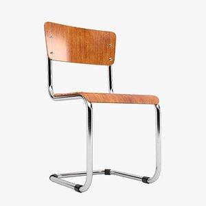 3D ahrend school chair model