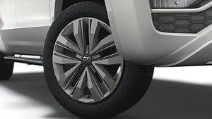 volkswagen amarok 2020 3D model