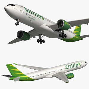 airbus a330neo citilink 3D model