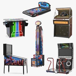 3D model Arcade Games Collection 8