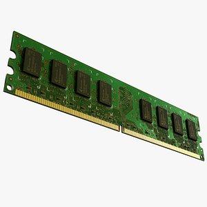 Ram Module 3D model