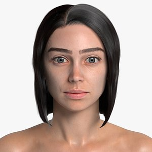 3D 3D Photorealistic Female Rigged