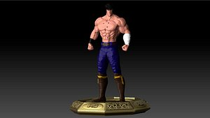 3D hokuto ken kenshiro il model