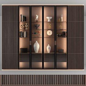 3D rimadesio modulor cabinet model