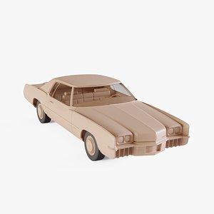 3D 1972 Oldsmobile Toronado Y57