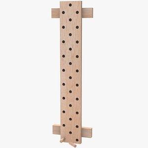 3D Climbing Peg Board