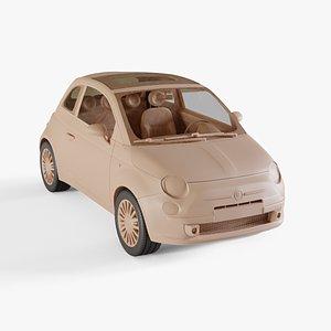 2010 Fiat 500 model