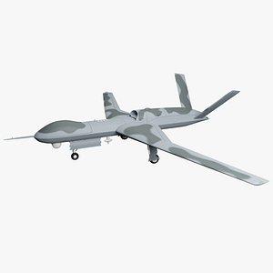 3D Predator C Avenger Drone