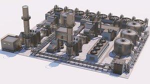 3D Industrial Site 01