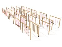 Wooden playground collection