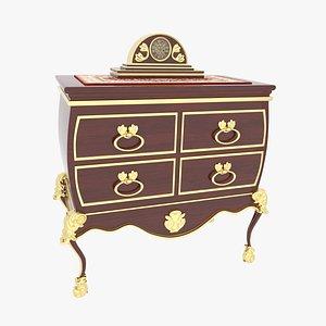 Victorian Dresser 3D model
