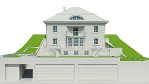 mansion hill 3D model