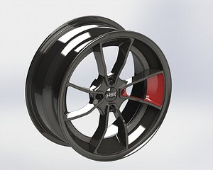 solidworks wheel r18x8 3D model